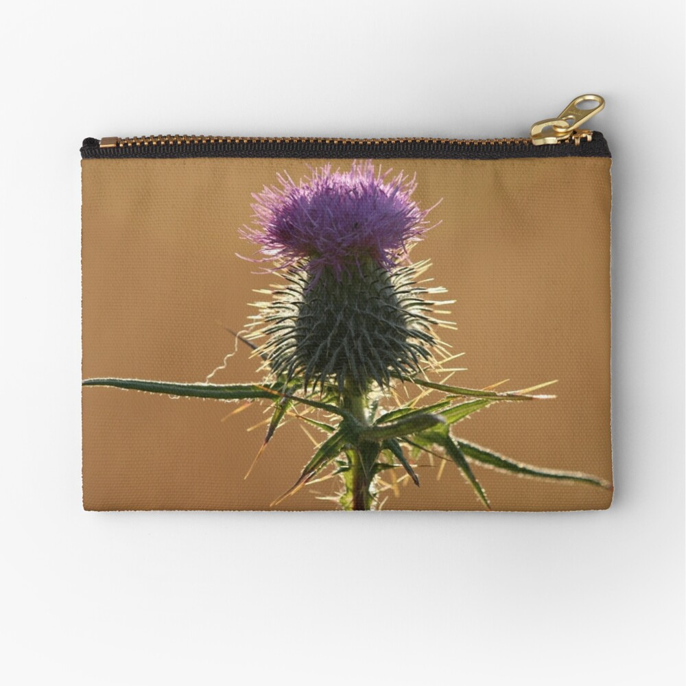 Thistle Zipper Pouch
