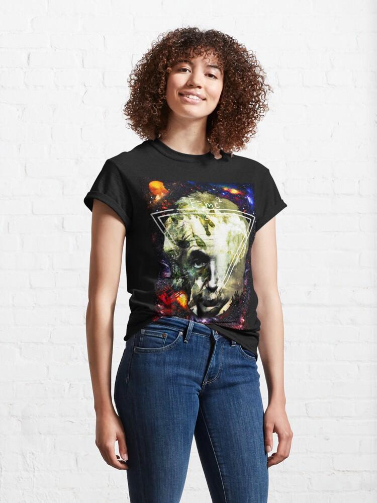 Alternate view of Einstein Classic T-Shirt