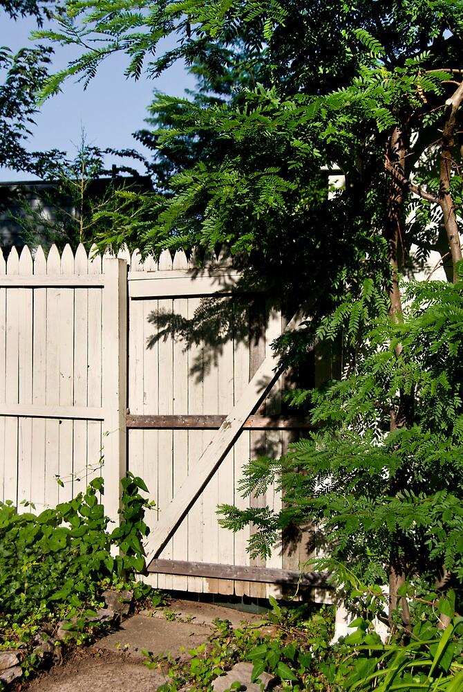 Garden Gate by Joy  Rector