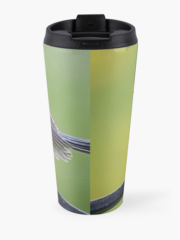 Alternate view of Young blue tit Travel Mug