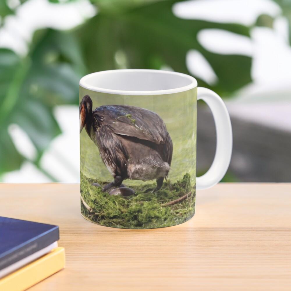 Great crested grebe Mug