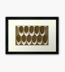 Shadows And Shapes Framed Print