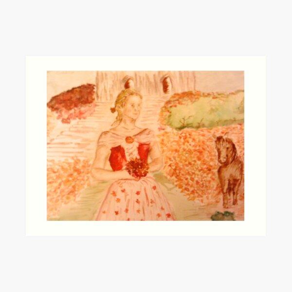 An Autumn Wedding Art Print