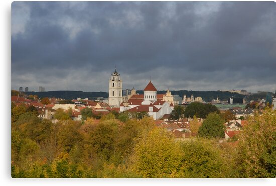 Vilnius. Old town. My city. by Antanas