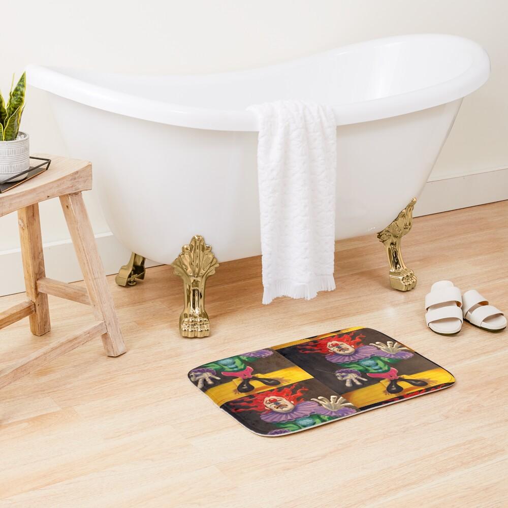 MAESTRO the clown Bath Mat