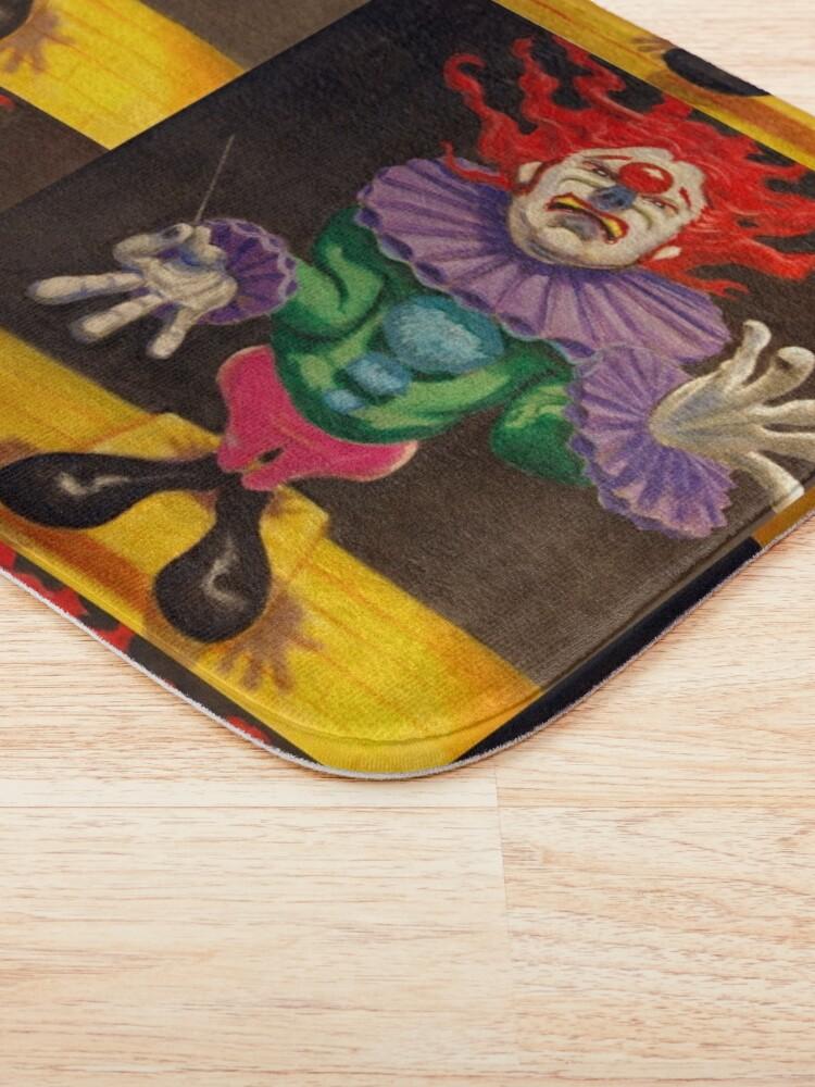 Alternate view of MAESTRO the clown Bath Mat