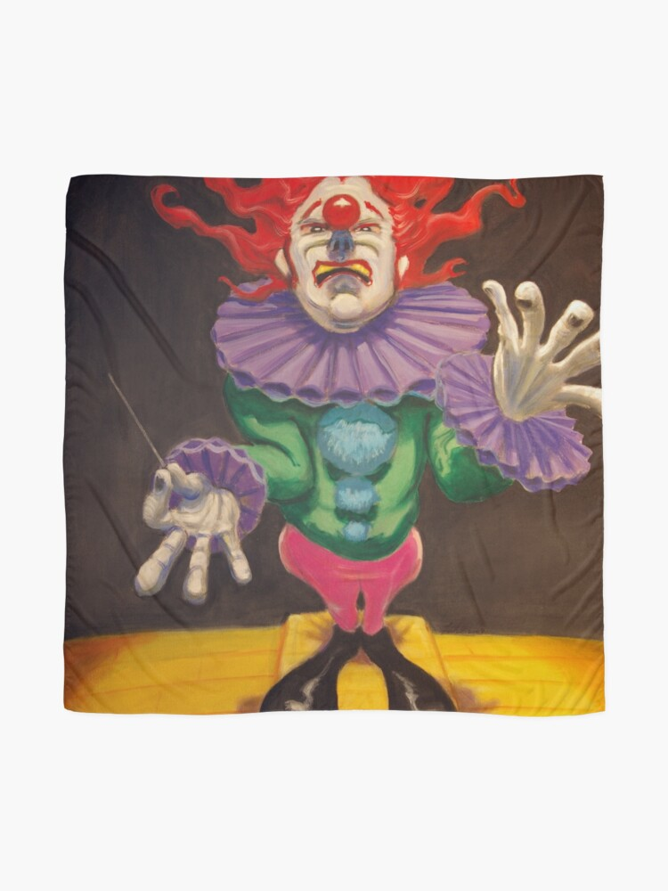 Alternate view of MAESTRO the clown Scarf