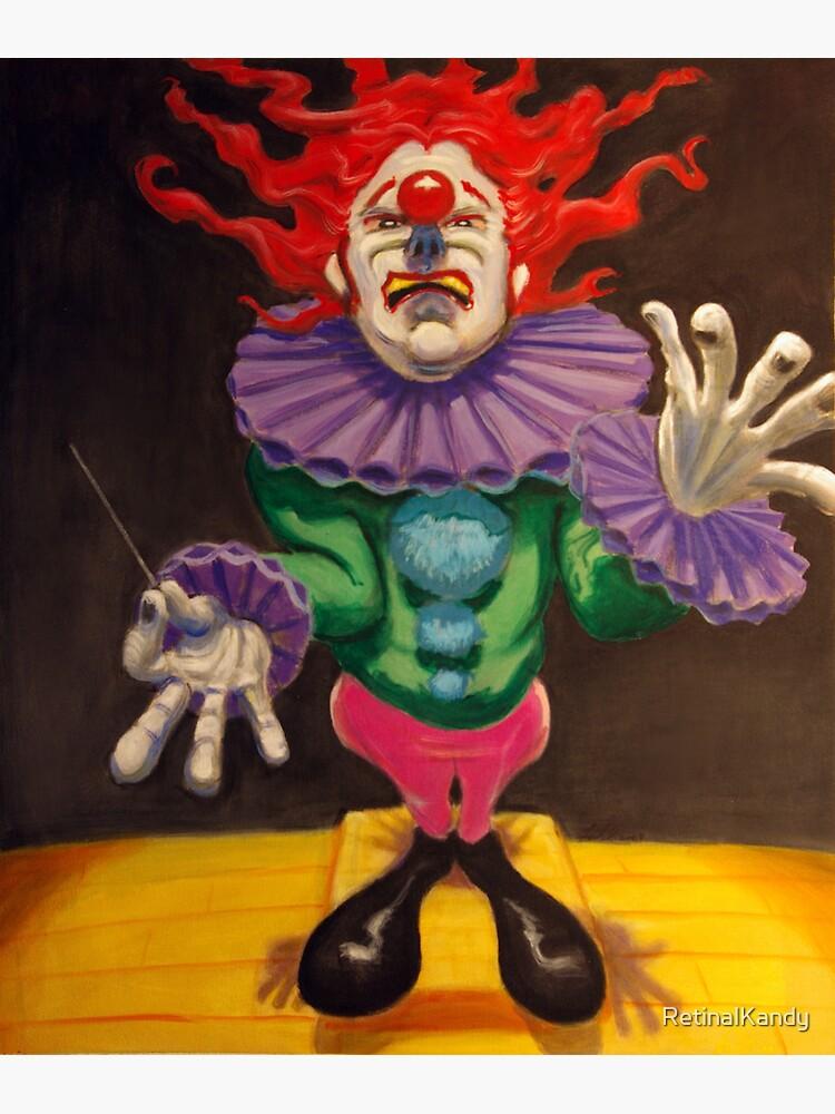 MAESTRO the clown by RetinalKandy