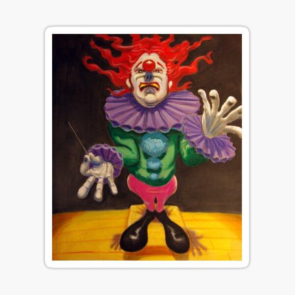MAESTRO the clown Sticker