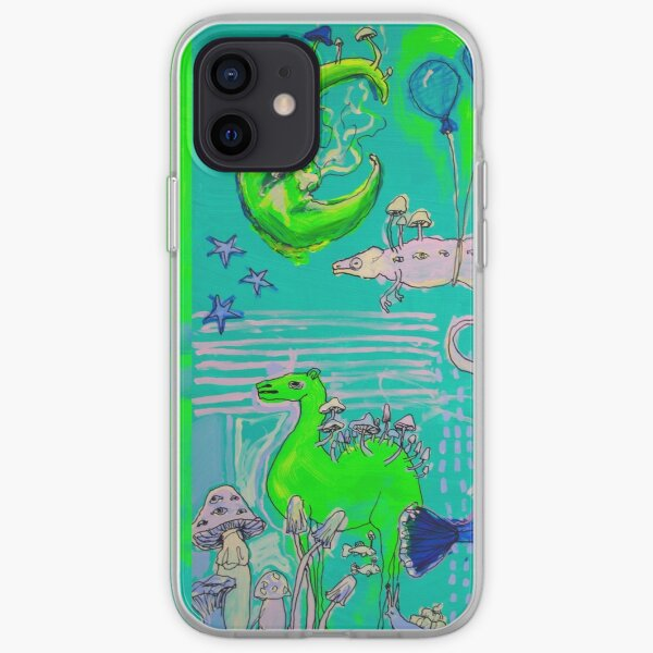 Mushroom Moon, Camel and Shroomeleon iPhone Soft Case