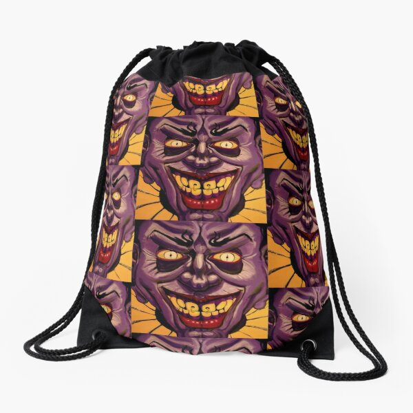 PING PONG the clown Drawstring Bag