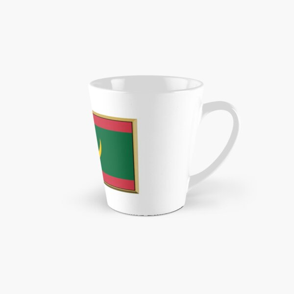 Mauritania Flag Stickers, Gifts and Products Tall Mug