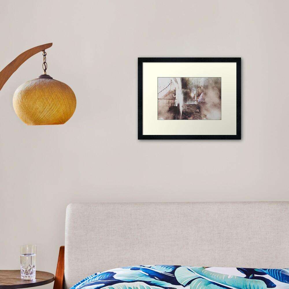LA COMPLAINTE À L'ÉQUINOXE II Framed Art Print