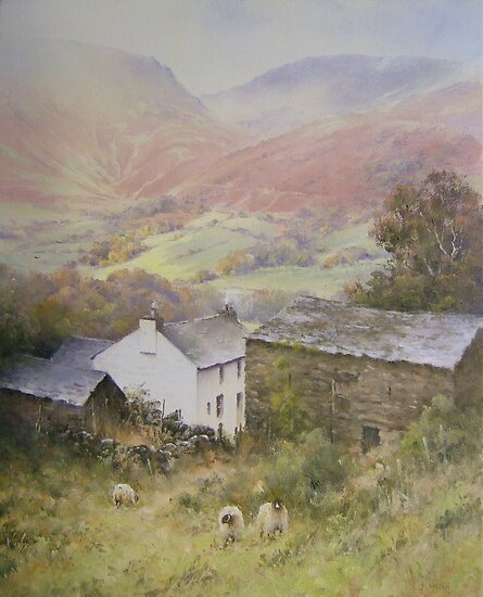 Above Grasmere from Allan Bank, Cumbria by JoeHush