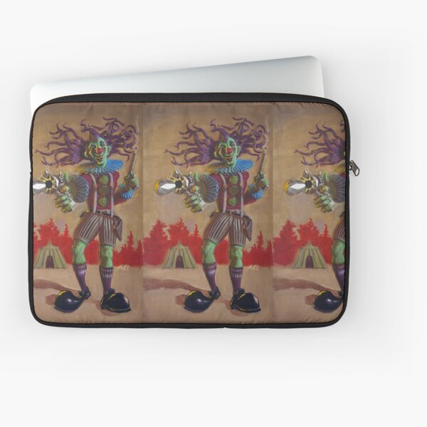 Rodney the Gunslinging Hermit Clown Laptop Sleeve