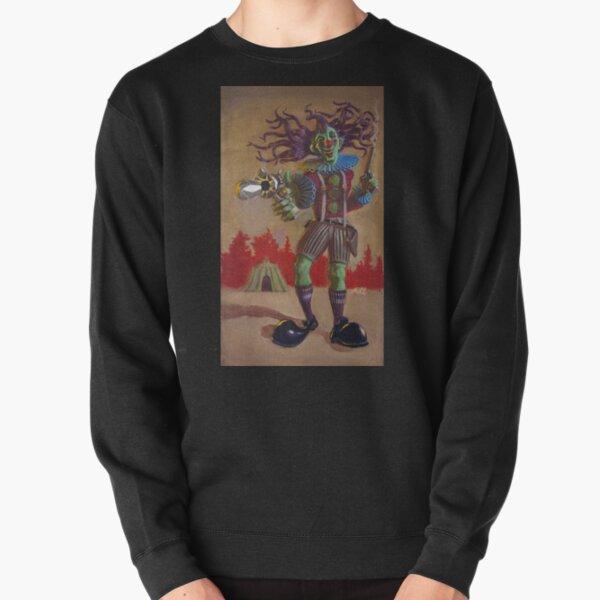 Rodney the Gunslinging Hermit Clown Pullover Sweatshirt