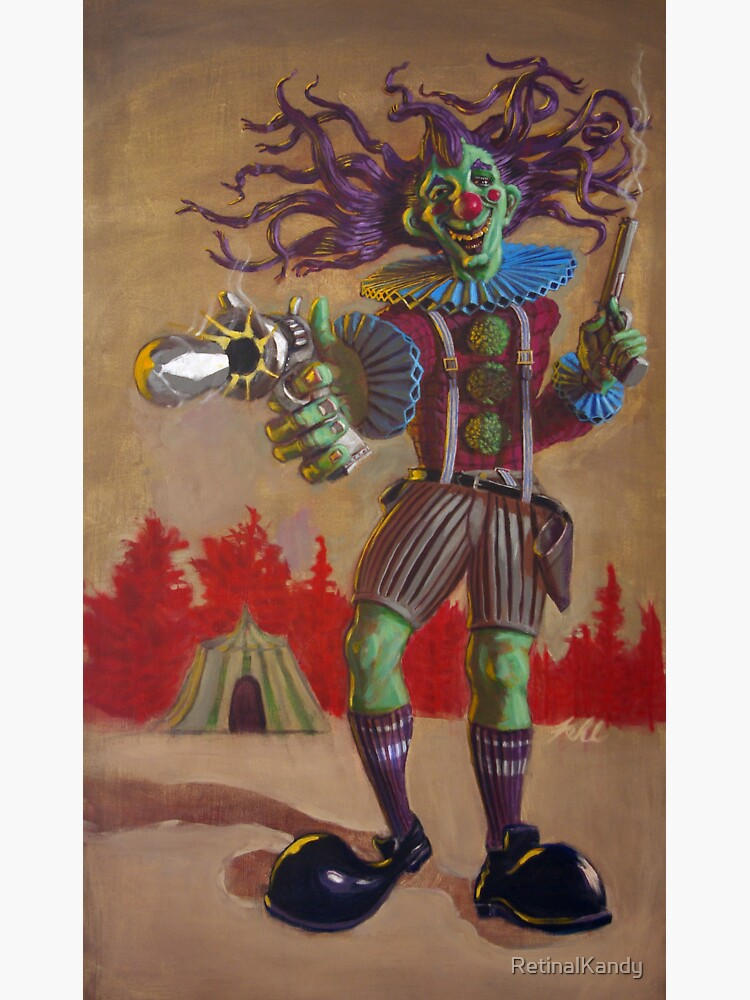 Rodney the Gunslinging Hermit Clown by RetinalKandy