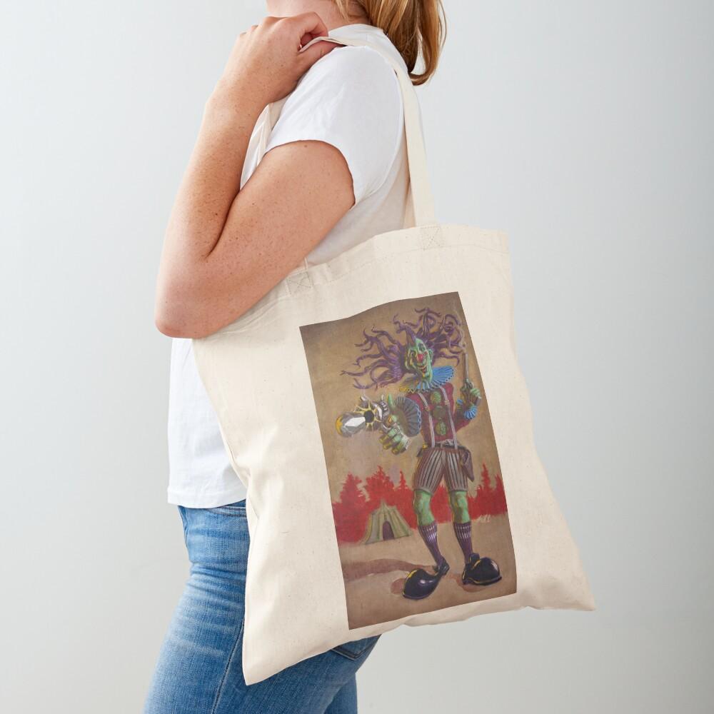 Rodney the Gunslinging Hermit Clown Tote Bag