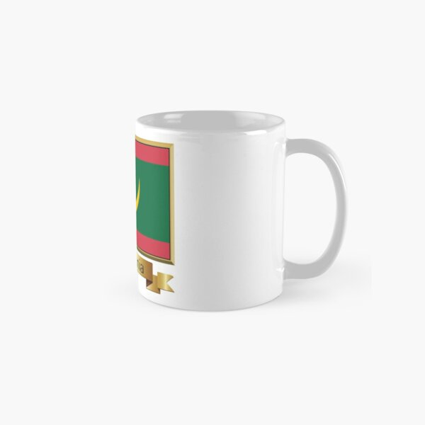 Mauritania Flag Stickers, Gifts and Products - Named Classic Mug