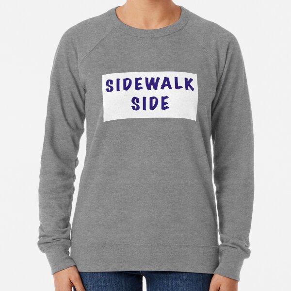 Mardi Gras Parade Sidewalk Side Lightweight Sweatshirt