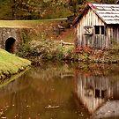 Mabry Mill, Virginia by Tom Michael Thomas
