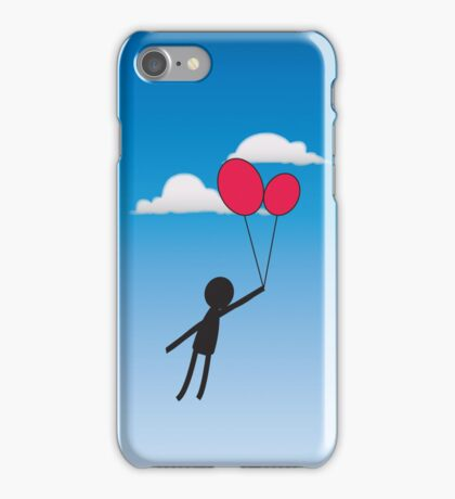 Let your dreams carry you away  iPhone Case/Skin