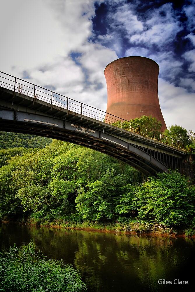 Ironbridge Power Station, Shropshire, England by Giles Clare