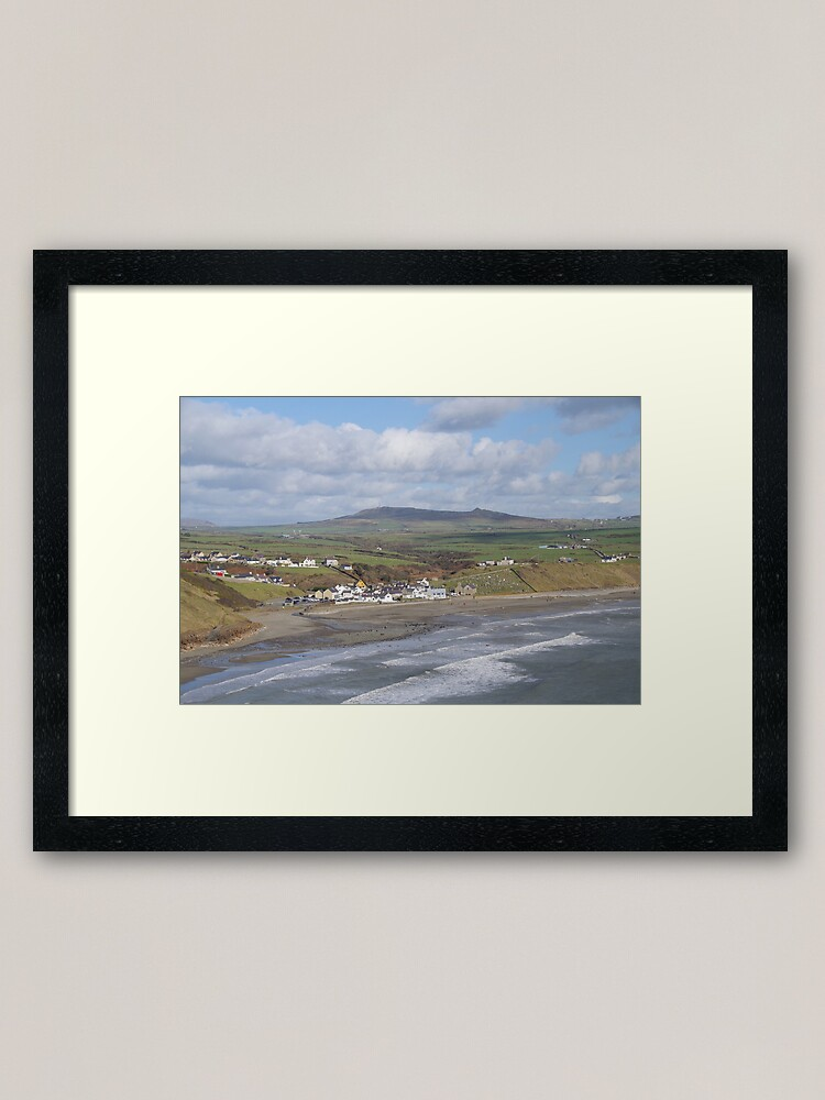 Alternate view of Aberdaron by the Sea Framed Art Print