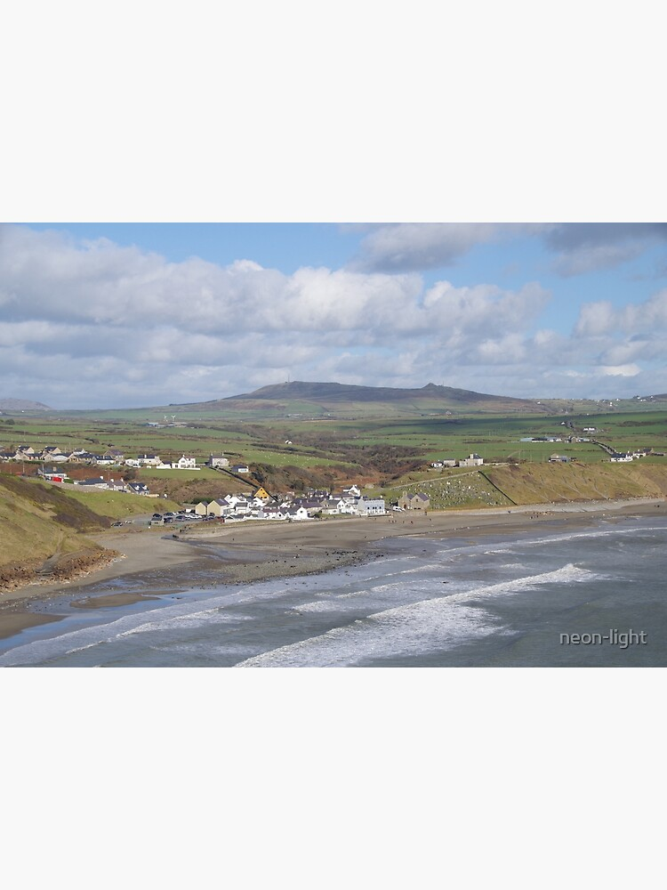 Aberdaron by the Sea by neon-light