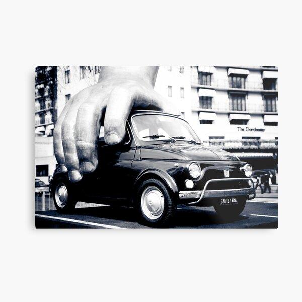 FIAT 500 Metal Print