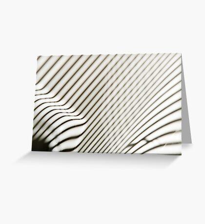 Lines Everywhere Greeting Card