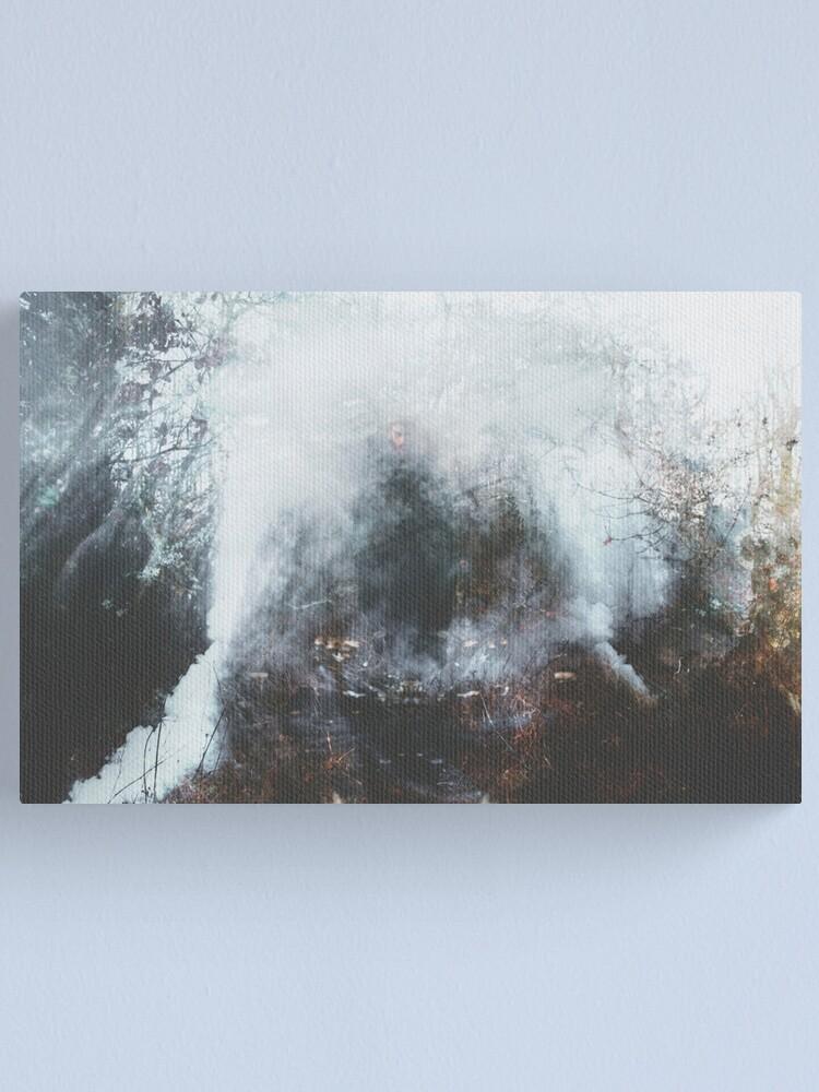 Alternate view of LE PASSEUR DE BRUME Canvas Print