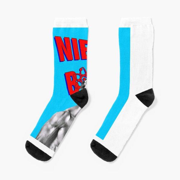 Niels Bohr Superhero Socks