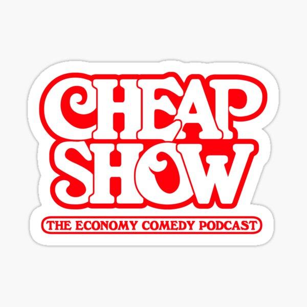Cup CheapShow Sticker