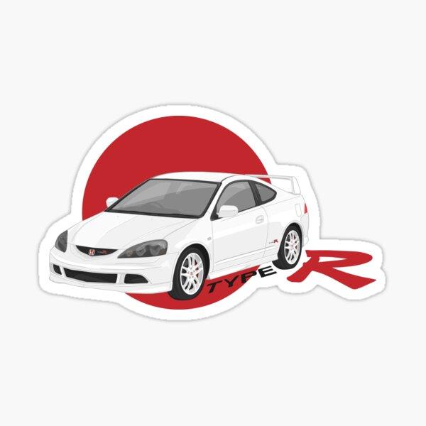 Rude Honda Badge Decal Honda Civic Decal Honda S2000 Honda NSX Honda Type R