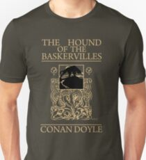 Hound of the Baskervilles Book Cover T-Shirt