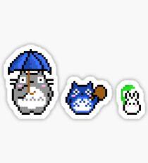 Totoro - pixel art Sticker