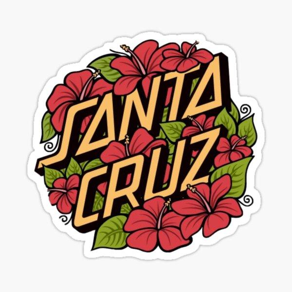 Santa Cruz pegatina hibisco Pegatina