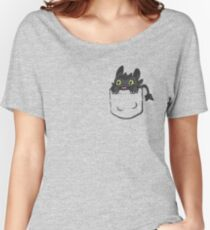 Pocket Toothless Women's Relaxed Fit T-Shirt