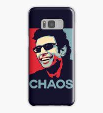 Ian Malcolm 'Chaos' T-Shirt Samsung Galaxy Case/Skin
