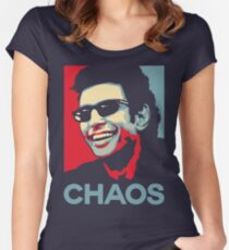 Ian Malcolm 'Chaos' T-Shirt Women's Fitted Scoop T-Shirt