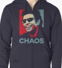 Ian Malcolm 'Chaos' T-Shirt Zipped Hoodie