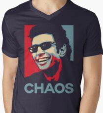 Ian Malcolm 'Chaos' T-Shirt Men's V-Neck T-Shirt