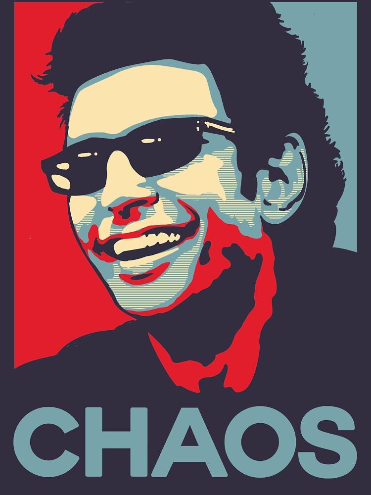Ian Malcolm 'Chaos' T-Shirt by Tabner