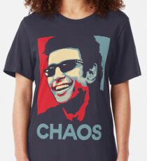 Ian Malcolm 'Chaos' T-Shirt Slim Fit T-Shirt