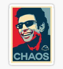 Ian Malcolm 'Chaos' T-Shirt Sticker