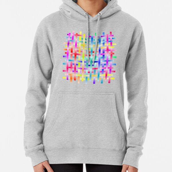 Strips Rainbow Pullover Hoodie