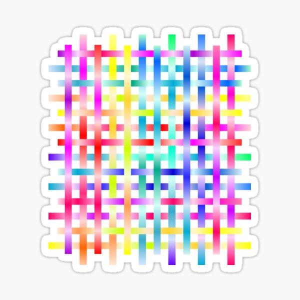 Strips Rainbow Sticker