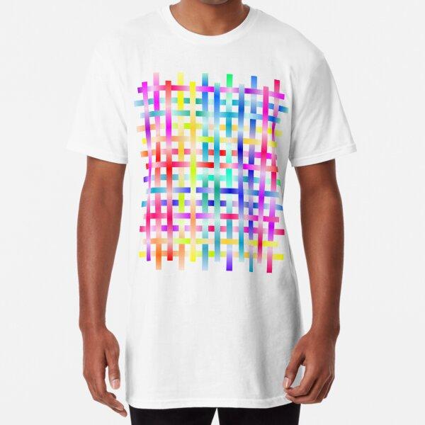 Strips Rainbow Long T-Shirt