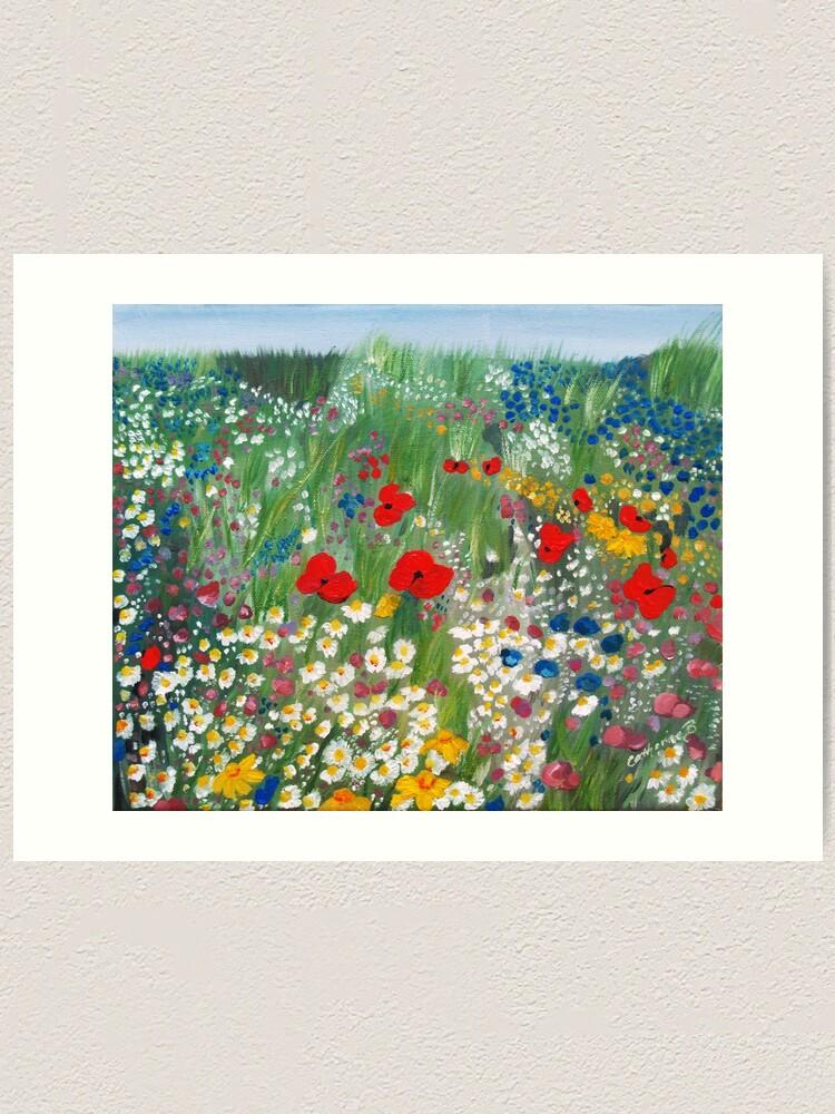 Alternate view of Floral Treasures Art Print